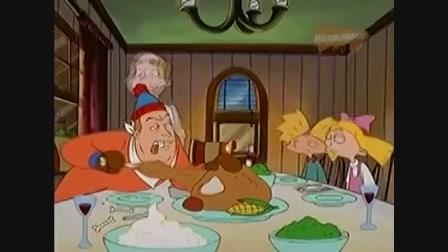 Hé, Arnold! - Hálaadás ünnepe-- vicces rajzfilm gy