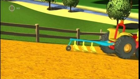 Traktor Tom -  Tom nehéz napja